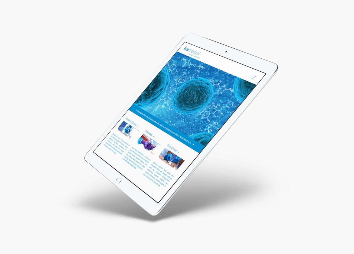 IPad responsive UX for ICU medical